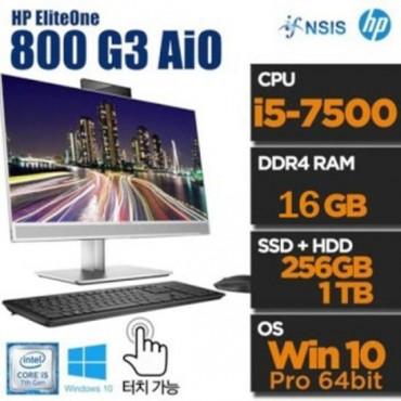 [HP] HP HP  EliteOne 800 G3 AIO Touch 16GB 8G3A57W10