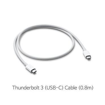[APPLE] 애플Thunderbolt 3(USB-C) 케이블(0.8m) (MQ4H2FE/A)