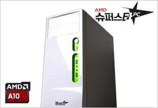 [AMD] 슈퍼스타PC NO.3 화이트 [온라인게임용/A10 7870K/8G/120G/R7]