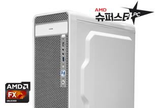 [AMD] 슈퍼스타PC NO.6 화이트 [고사양게임용/FX 8300/8G/240G/750TI]