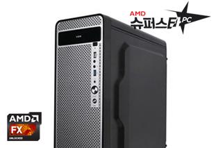 [AMD] 슈퍼스타PC NO.7 블랙 (고사양게임용/FX 8300/8G/240G/1060)